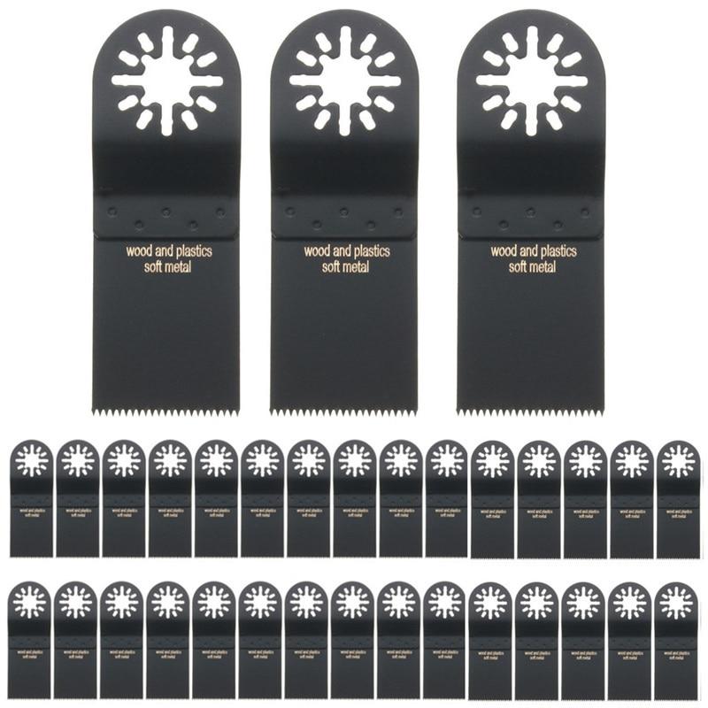 DWZ 30x Wood Plastic Saw Blades Set For Milwaukee RIDGID Fein Oscillating Multi Tool ridgid 41177 tool flare 458 japan
