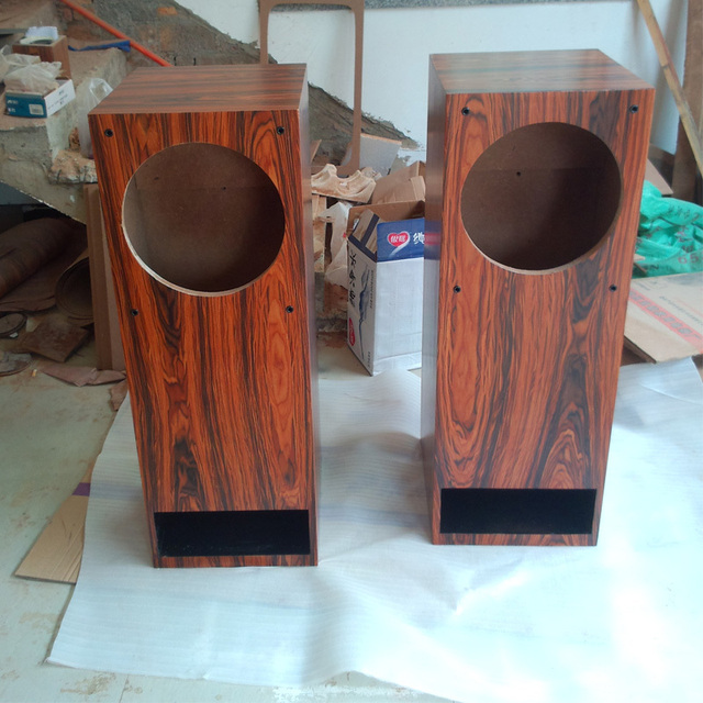 Speakers empty floor labyrinth box blank box customized for 12 inch floor speakers