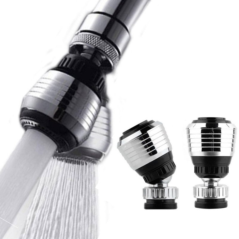 2 Modes Water Saving ABS Water Faucet Aerators 360 Degree Revolving ABS Plastic Kitchen Bathroom Water Tap Spouts