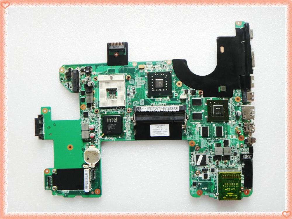 for hp HDX X18-1001XX NOTEBOOK 496871-001 HSTNN-Q35C for HP HDX18 motherboard G96-630-A1 PM45 DDR2 DAOUT7MB8F0