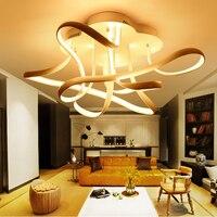 LED Nordic Iron Aluminium Acryl Minimalisme LED Lamp. LED Licht. Plafondverlichting. LED Plafondlamp. Plafond Lamp Voor Foyer Slaapkamer|Plafondverlichting|Licht & verlichting -