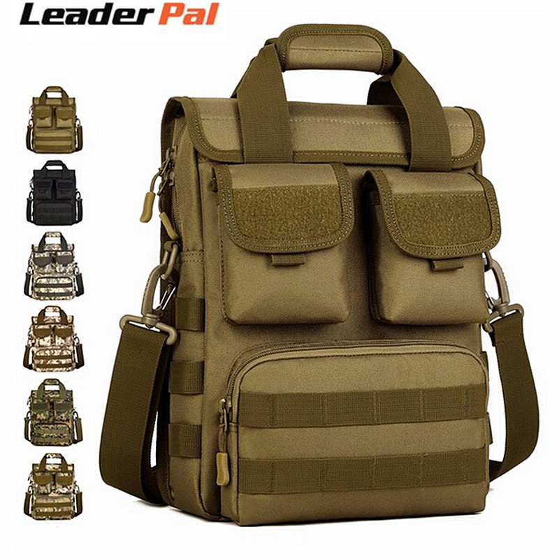 Men 1000D Nylon Tactical Backpack Crossbody Shoulder Computer Bag Travel Handbag
