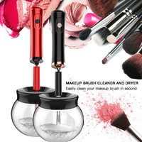 Brosse de maquillage électrique nettoyant Silicone pratique maquillage brosses lavage nettoyant outil de nettoyage Machine nouveau nouveau