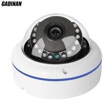 GADINAN H.265 Anti-Vandalisme 3MP 2048*1536 Hi3516D + 1/3 «AR0330 HD Dôme IP Caméra 1080 P IR Cut CCTV Caméra Réseau IP Caméra ONVIF