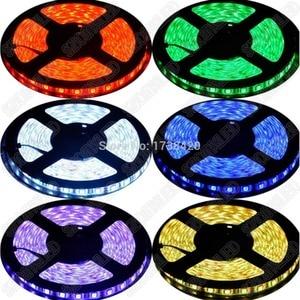 Image 5 - 20 מטרים חבל RGB 20 m LED רצועת 5050 SMD 12 V 60 נוריות/m אדום/ירוק/כחול/לבן/RGB/צהוב 12 V גמיש אור smd5050 waterproof no