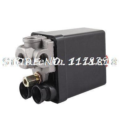 240 Volt 20Amp 4 Ports Black Cover Automatic Air Compressor Switch Pilot Valve маяк findme f2 volt