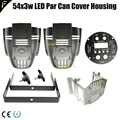 Nowy etap światła LED Par 54x3w 54*3 obudowa obudowa części zamienne 18x12w 18x15w 100w 200w COB LED Par osłona tłumika zamiennik