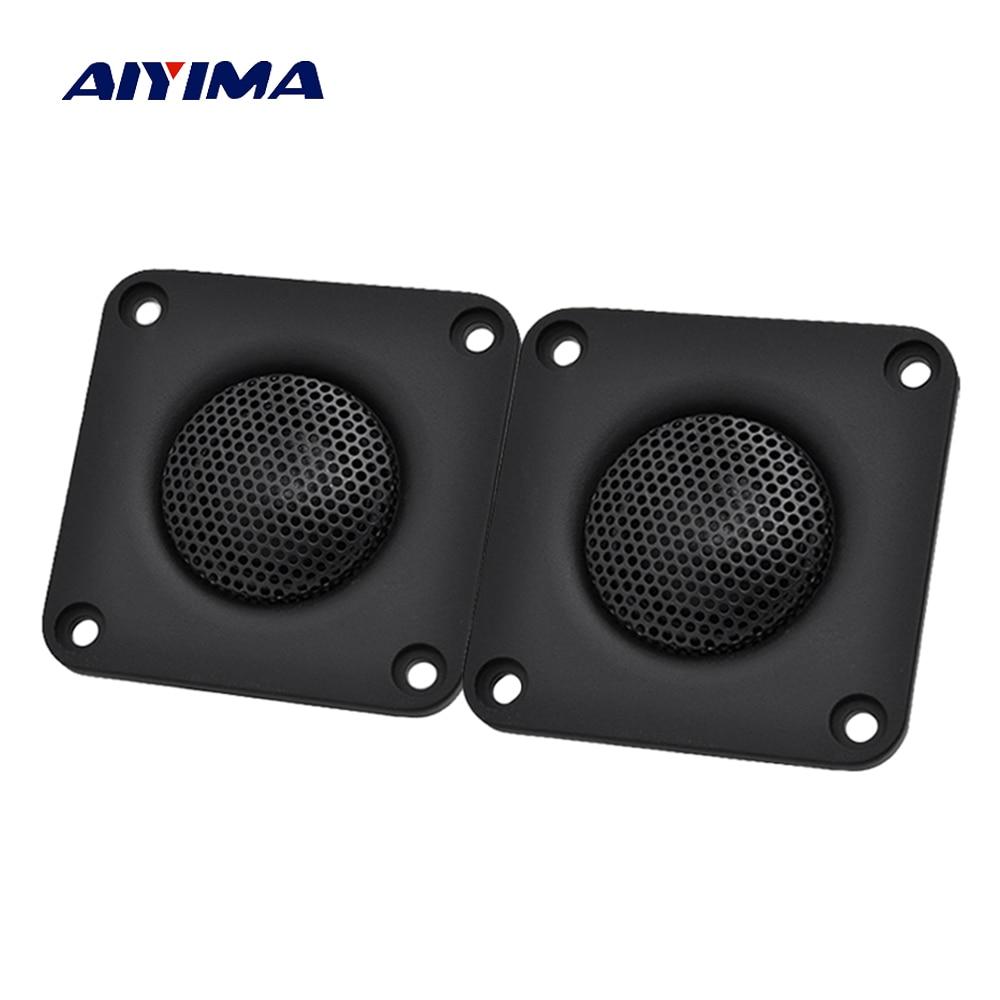 Aiyima 2PC 2Inch 4Ohm 30W Tweeter 25 Core Silk Film Audio Speaker Loudspeaker Speaker Unit Home Theater