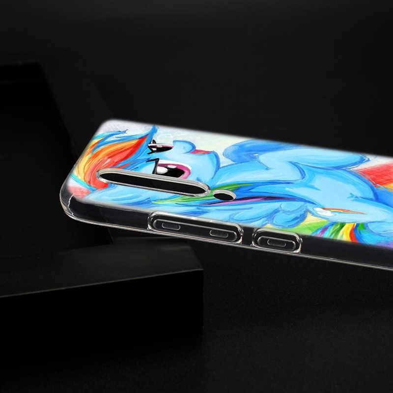Хит продаж, с рисунком из мультфильма «Мой Маленький Пони», мягкий силиконовый чехол для спортивной камеры Xiao mi Pocophone F1 mi 5X A1 6X A2 8 SE Lite Play mi x3 9 9SE Red mi Примечание 5A Pro крышка