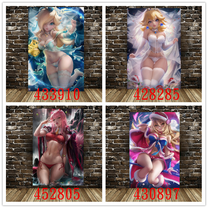 Anime Game Poster Canvas Decorative Paintingcanvas Decorative Painting Wall Stickers Home Decoration Supplies Canvas Painting
