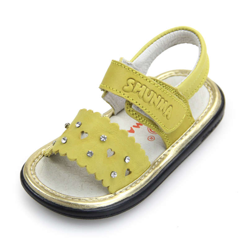Designer Baby Girl Summer 2018 Leather Princess Shoes Breathable Children Gladiator Infant Toddler Orthopedic Childrens Shoes