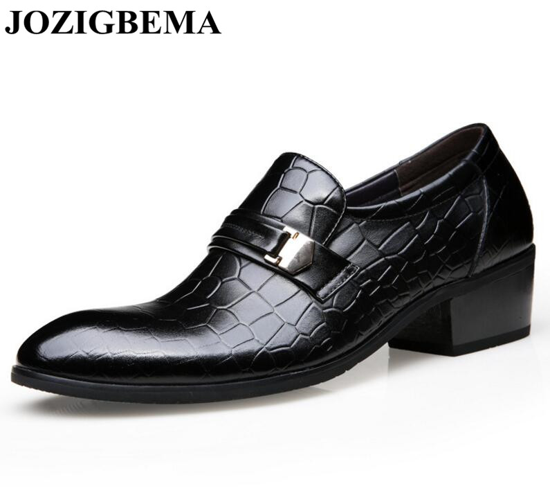 Preto Zapatos Casamento Hombre Calçados Novos marrom Masculinos Oxfords Moda Toe Sapato Apontou Homens Sapatos Formal Masculina Jozigbema Estilo Da Britânico UR4qwx6