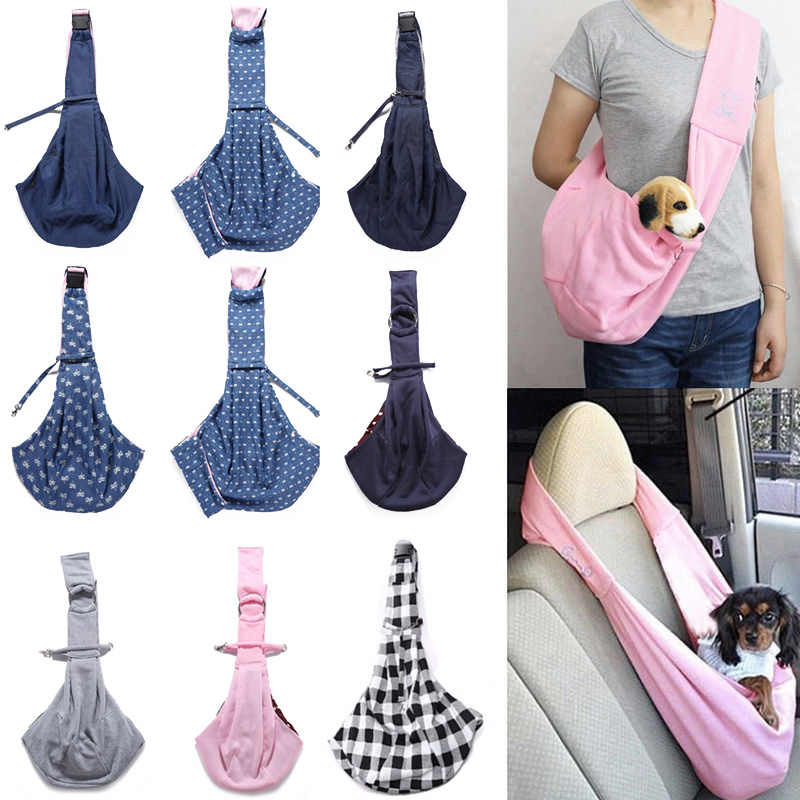 Pet Dog Cat Carrier Outdoor Shoulder Bag Puppy Travel Carry Tote Sling Pouch Handbag can CSV