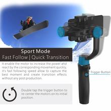 Hohem iSteady Mobile+ Plus 3-Achsen Gimbal Stabilisator für Smartphones