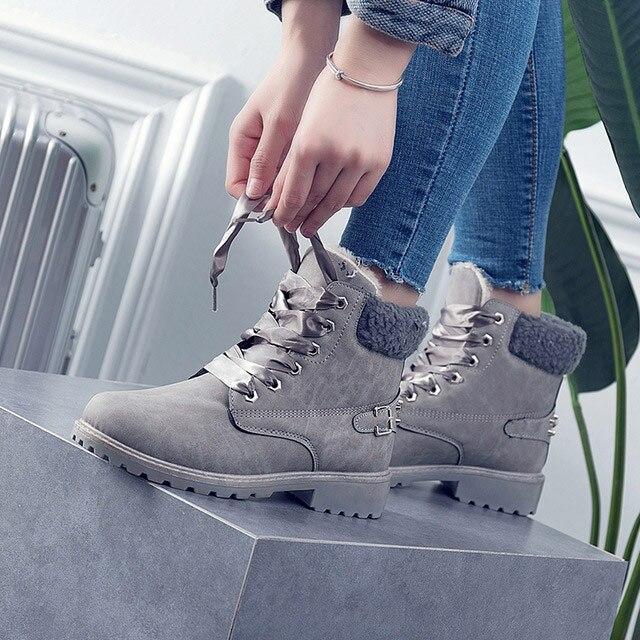 Women boots 2019 hot fashion winter