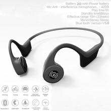 купить Bone Conduction Sports Headset Wireless Bluetooth 5.0 Stereo Headset Neck-strap Headphone Bone Conduction Hands-free Earphone по цене 2773.16 рублей
