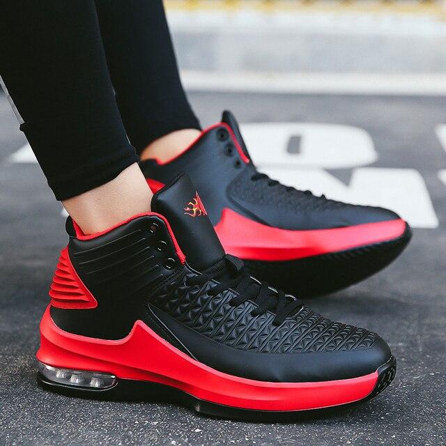 625449697d3e22 2017 New Men Zapatillas Baloncesto Men Sneakers Breathable Hombre Men Ankle  Boots Basketball shoe Outdoor Sport Shoes Mens