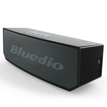BS-5 Original Bluedio Mini Bluetooth Altavoz Portátil Inalámbrico Dual Sistema de Altavoces con micrófono para la música y llamadas de teléfono