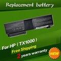 Batería del ordenador portátil para hp pavilion tx1000 tx1000z tx1100 tx1101au jigu tx1201au tx1200 tx1300 tx1400 tx1301au