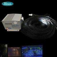 Maykit Mitsubishi Marke Polymer Glasfaserkabel Cree 5 watt Twinkle LED Emitter Dim Fernbedienung Für Lwl Pflaster licht