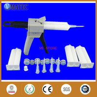 Free Shipping Ab Glue Cartridge 2:1 1:1 Universal 50ml 50cc Manual Dispense Gun With Cartridge & Static Mixer Nozzle