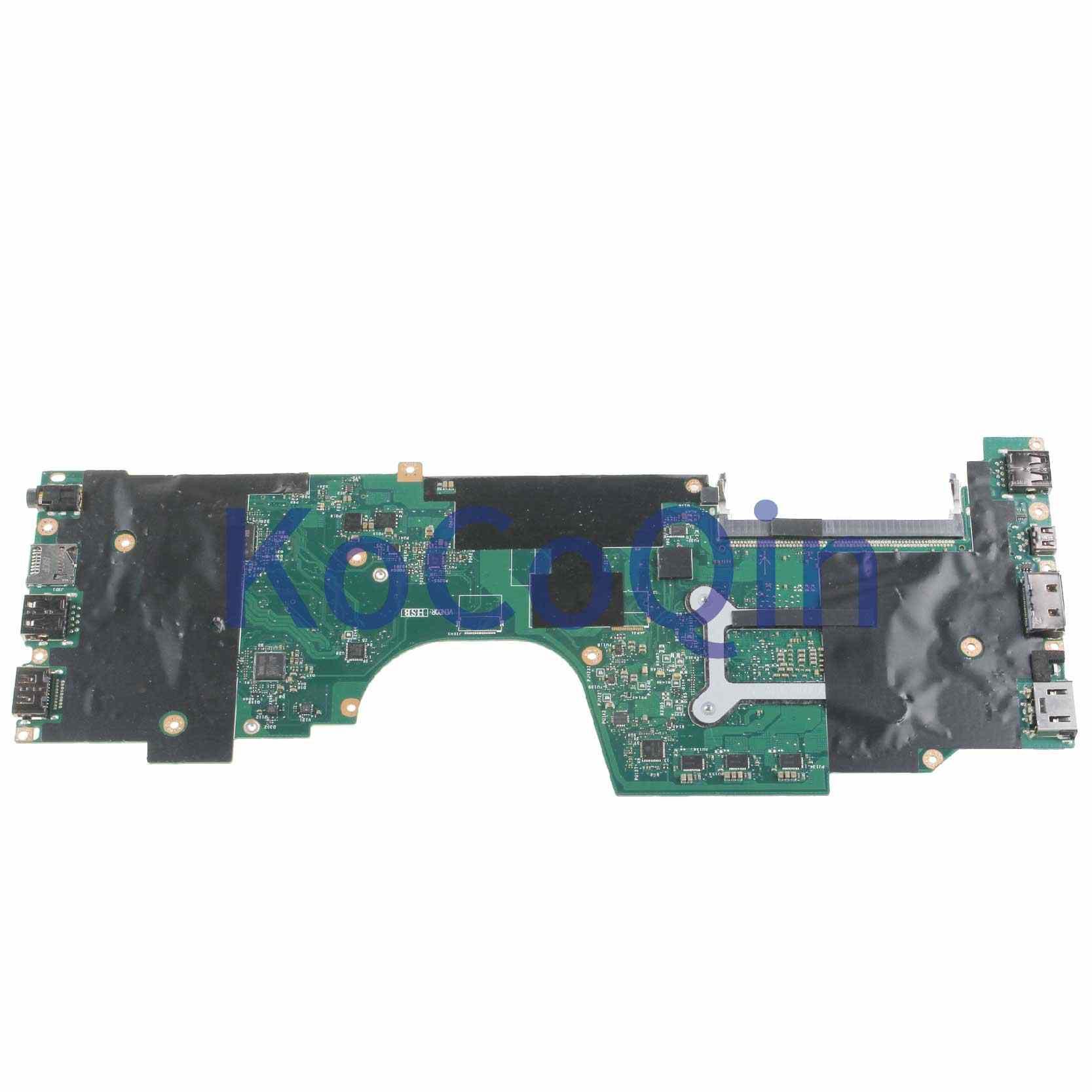 KoCoQin Laptop motherboard Für LENOVO ThinkPad YOGA 260 I7 Mainboard SR2EZ AIZS1 LA-C581P I7 CPU