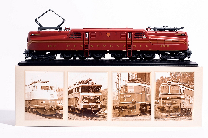 ATLAS 1:87 Class GG1 4910 (1941) PENNSYLVANIA TRAIN Locomotive Model Toy Gift