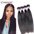 7A Cynosure Hair Procucts Brazilian Virgin Hair Straight 3Pcs 100% Human Hair Extension Soft And Vibrant Brazilian Straight Hair