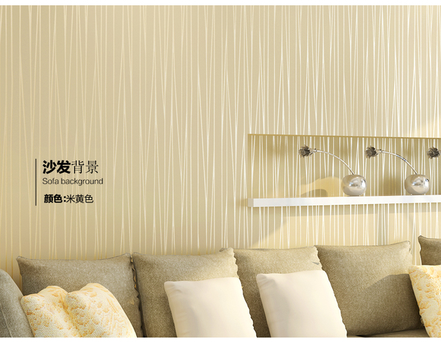 Bedroom Plain Wall Minimalist Concept Non Woven Wallpaper Plain Minimalist Living Room Warm And Solid