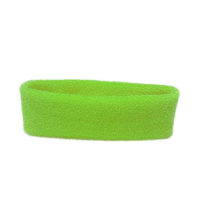 Women/Men Cotton Sweat Sweatband Headband Yoga Gym Stretch Head Band For Sport Belts Elasticity Sweat Bands Sports Safety 4