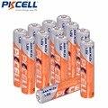 12 шт./аккумулятор PKCELL Ni-Zn AAA 900mWh 1,6 V NIZN AAA аккумуляторные батареи для игрушек налобный фонарь для камеры - фото
