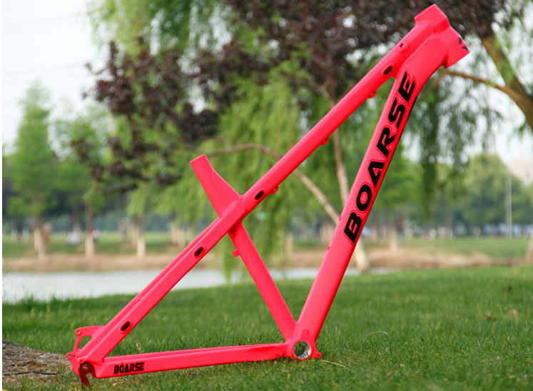 Pasak Full Suspension Aluminium Frame Alloy MTB Mountain  AM Cycling Bicycle Frame 26/27.5er*17inch Downhill Bicycle Part