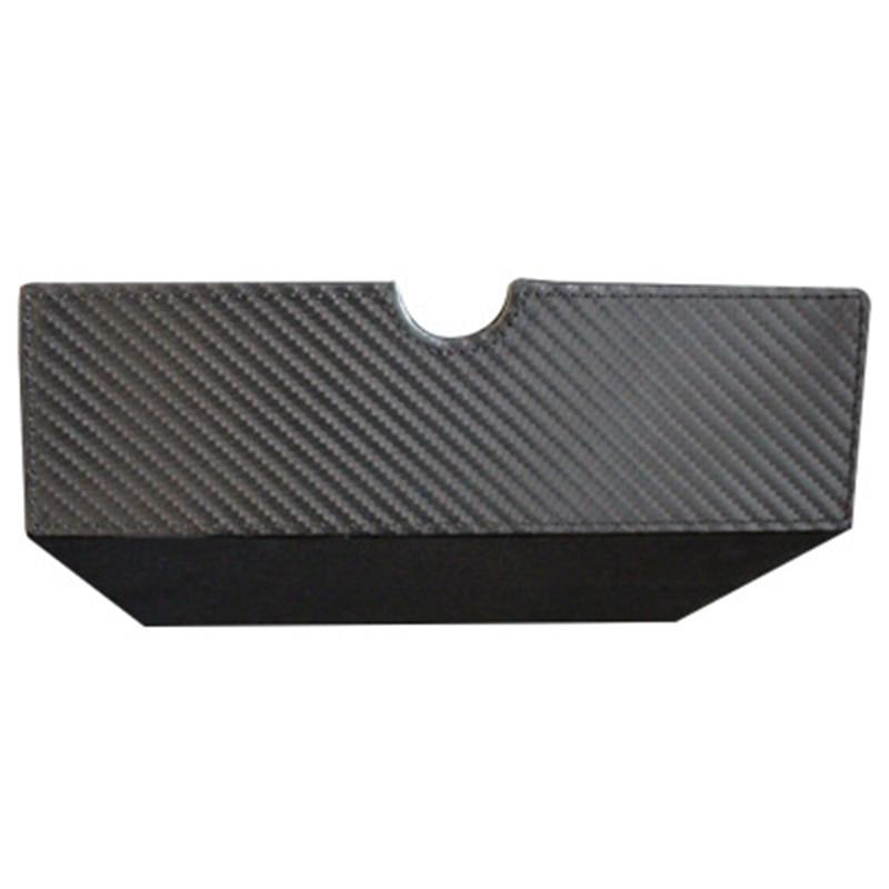 For Tesla Model S X Storage Box Car Console Drawer Carbon Fiber Large Capacity