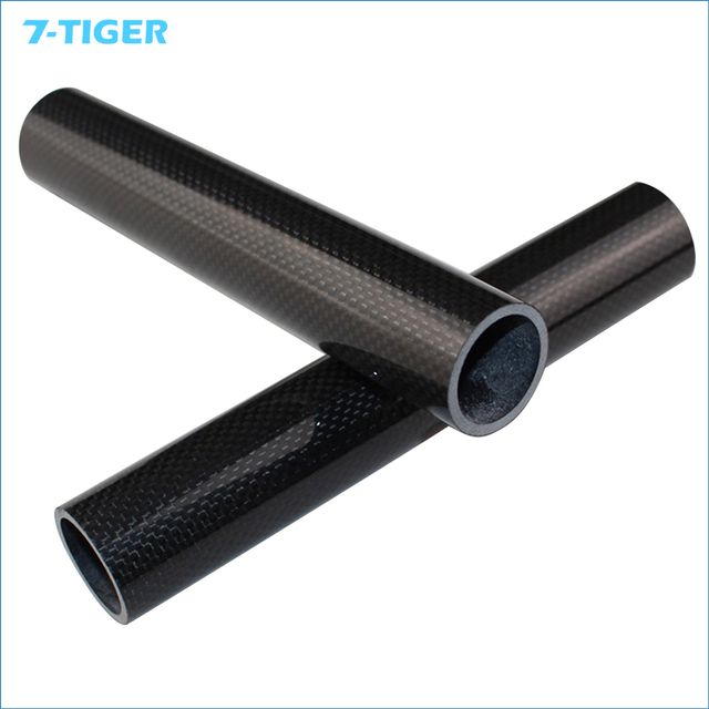 "High Quality  Carbon fiber 3K  1-1/8""   Headset Stem Spacer bicycle fork  washer 15cm-50cm can be choose"