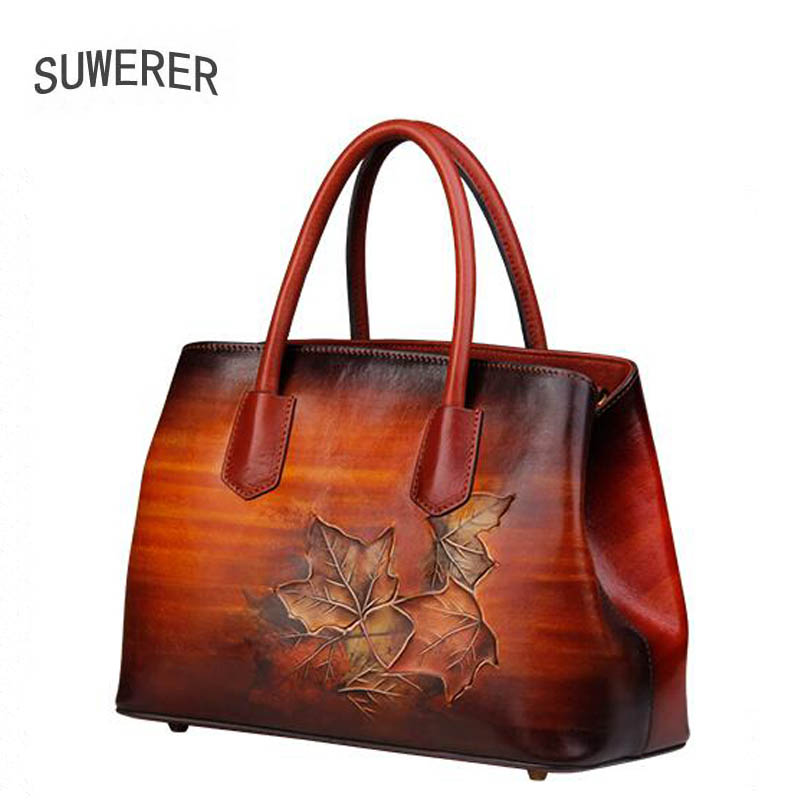 SUWERER new Genuine Leather women bags Special craftsmanship Fashion luxury handbags women bags designer women leather handbags suwerer new genuine leather women bags special craftsmanship fashion luxury handbags women bags designer women leather handbags