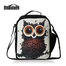 Coffee Bean Owl Lunch Bag