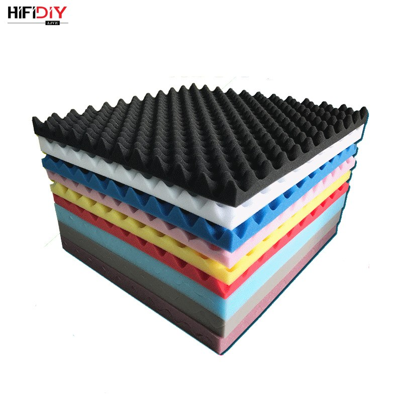 50 X 50cm Thickness 3cm SoundProofing Acoustic Foam Treatment Sound-absorbing Cotton Noise Sponge Excellent Sound Insulation