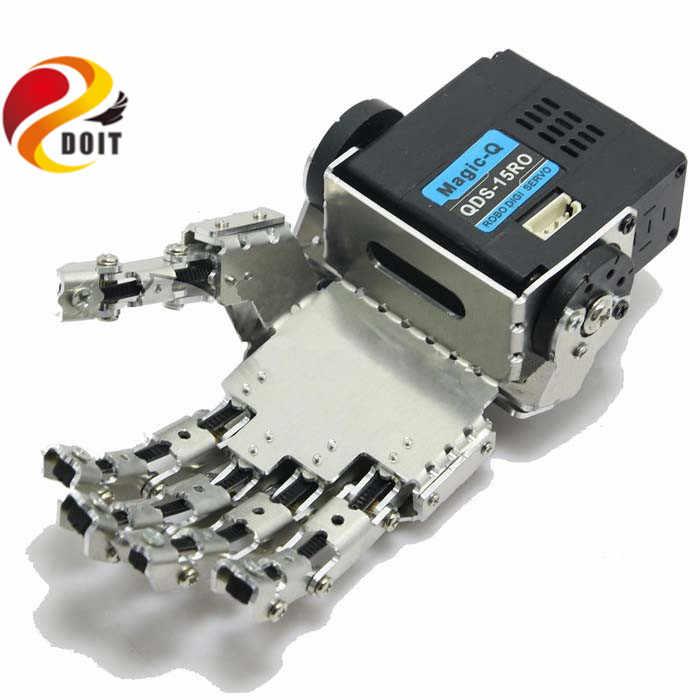 Официальный doit гуманоид палец манипулятор пять пальцев антропоморфные левой/правая рука с сервоприводом для двуногого робота DIY