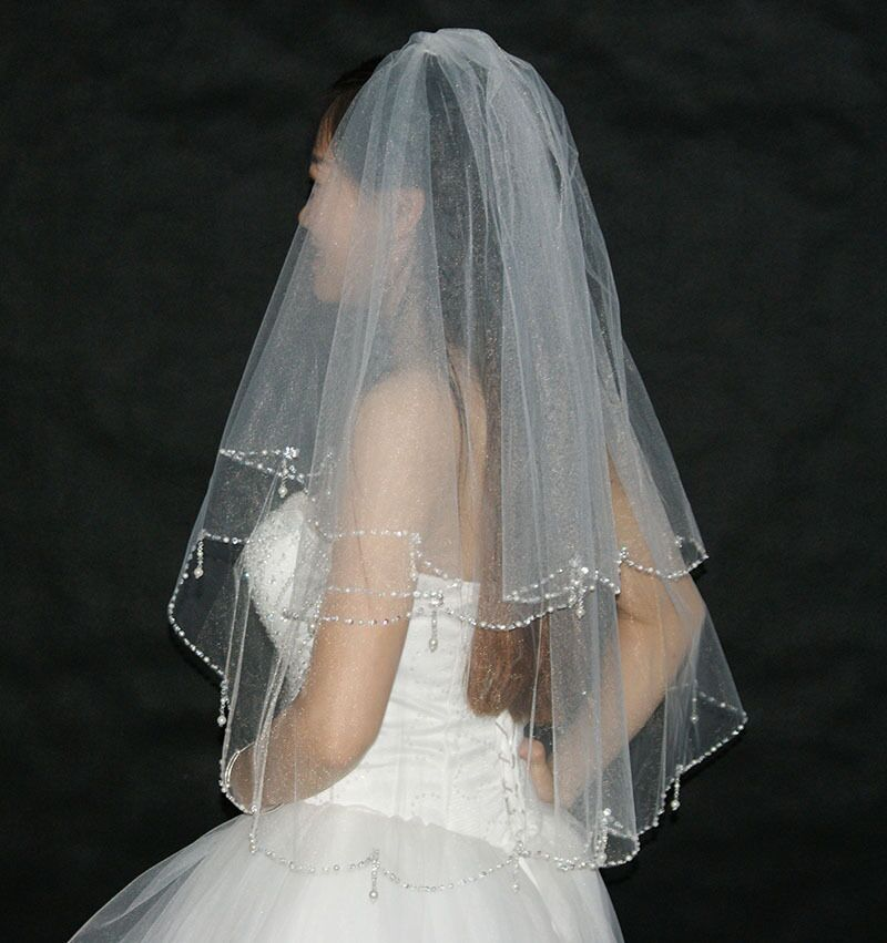 Aliexpress.com : Buy Bling Wedding Veils With Crystal ...