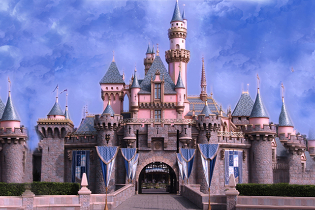 New Fotografia Castle Background Fabric Fairyland