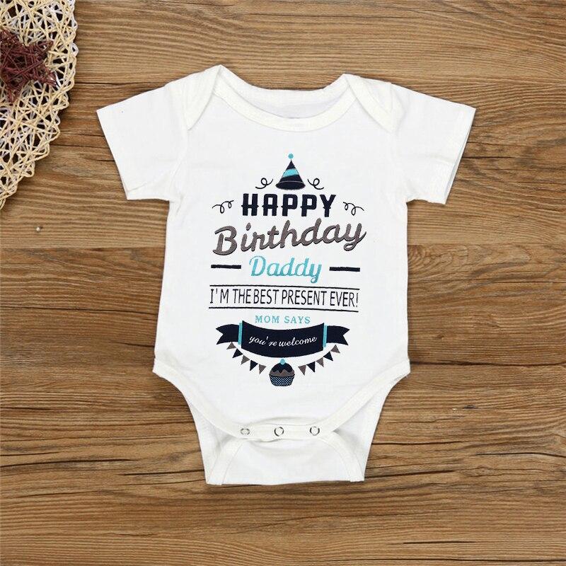 Happy Birthday To You Baby Grow Cute Babies Bodysuit