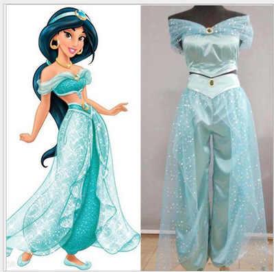 Маскарадный костюм Аладдина принцессы жасмин для взрослых женщин и девочек