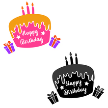 Eastshape Happy Birthday Cake Metal Cutting Dies Scrapbooking for Card Making DIY Embossing Cuts New Craft Die Gift