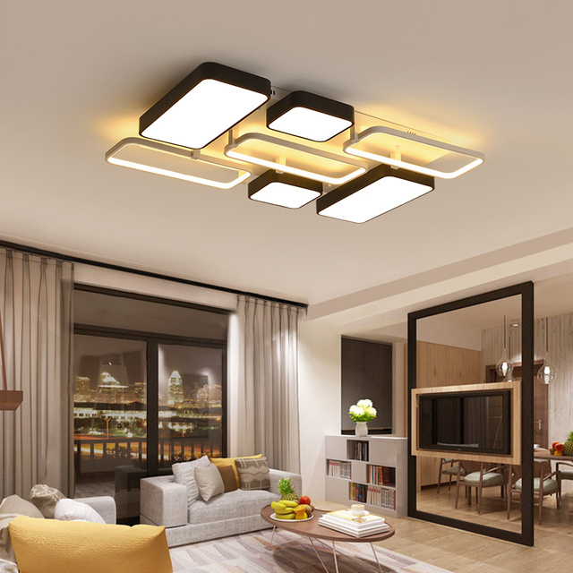 low ceiling living room design ideas images of well decorated rooms chandelierrec aluminum decor modern led lamps into ceilings bedroom home lighting dimming lights