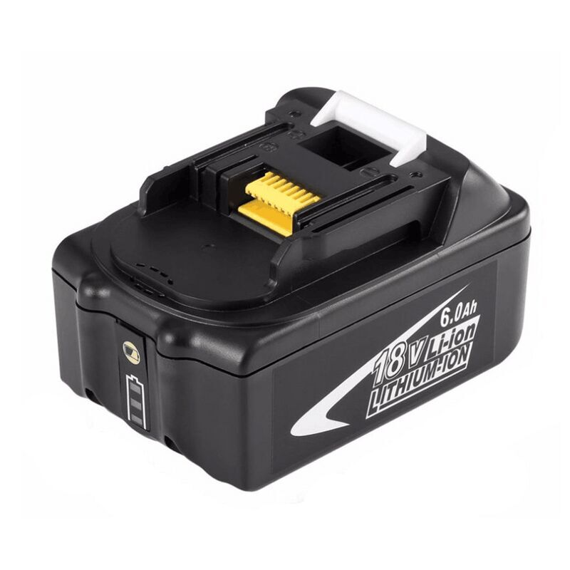 GTF New Portable 18V Rechargeable Battery 6AH 6000mAh Li-Ion Battery Replacement Power Tool Battery for MAKITA BL1860