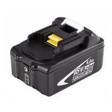 Новый портативный 18 в перезаряжаемый аккумулятор 6AH 6000 мАч литий-ионная батарея замена силового инструмента батарея для MAKITA BL1860