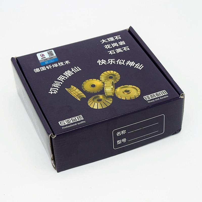 RIJILEI 74mm * 20 * 10-25 Soldadura de diamantes Discos de borde de - Herramientas eléctricas - foto 6