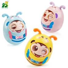 Baby Cute Rattle Cartoon Mobility Plastic Wink Doll Tumbler 0-12 Months Babies Rattles Toy For Newborn Education Gifts BEI JESS