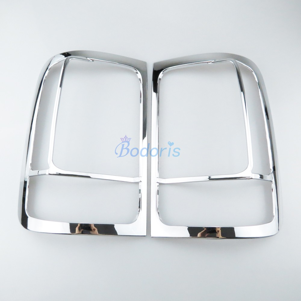 Chrome Car Styling Taillight Cover Light Frame Lamp Panel Overlay 2011 2012 2013 2014 2015 For Volkswagen VW Amarok Accessories
