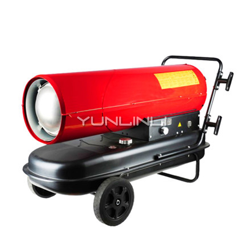 Подогреватель мазута 50kw большой Мощность промышленный дизельный нагреватель горячевоздушная сушильная печь WX-50A